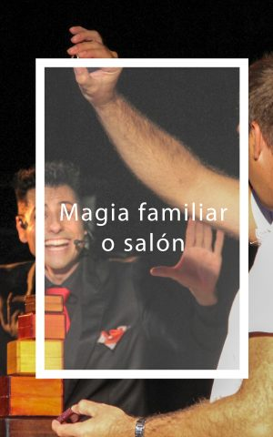 Foto magia familiar o salón